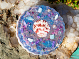 Larimar Orgone Charging Plate / Mermaid Muse Fall 2020 / Meditation Altar Orgone Crystal Charging Plate