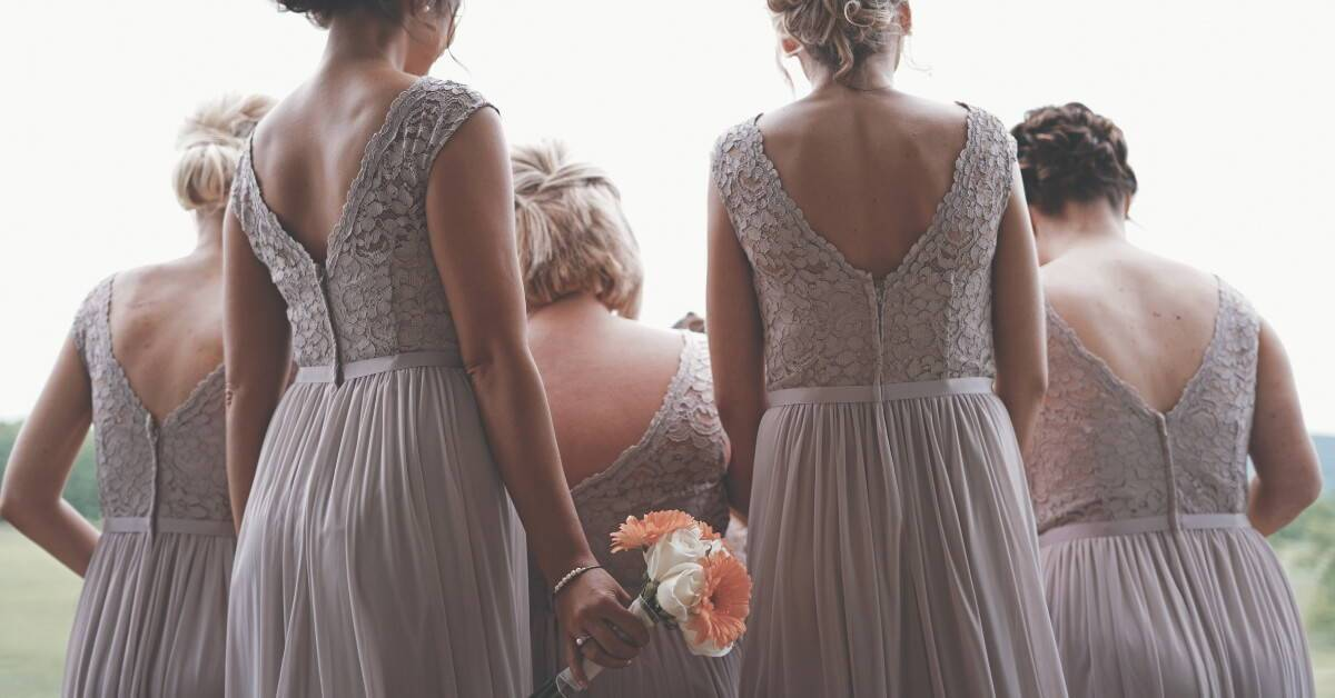 How to Use Any Color for Fall Bridesmaid Dresses