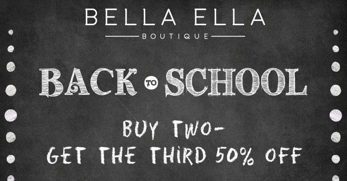 Roll Call: Announcing Our Back to School Sale
