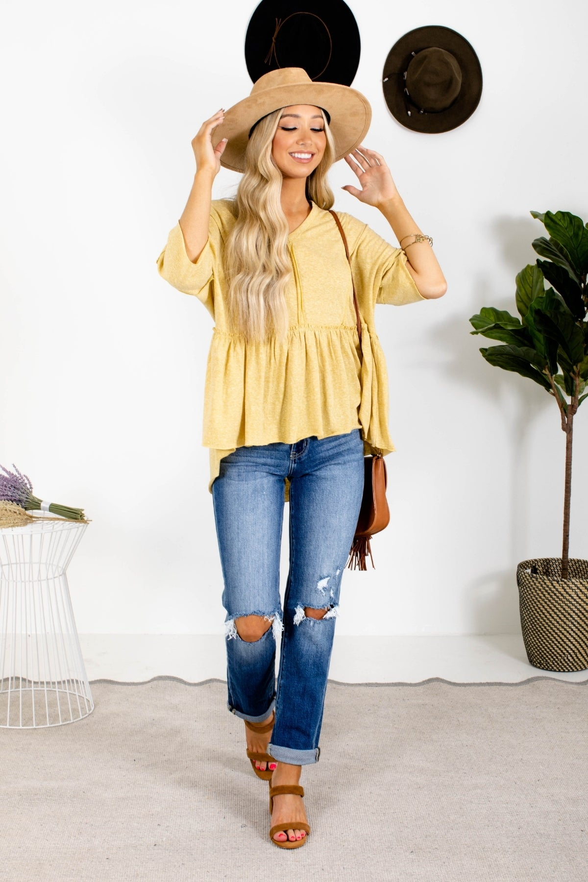 Spring Collection: Yellow Blouse