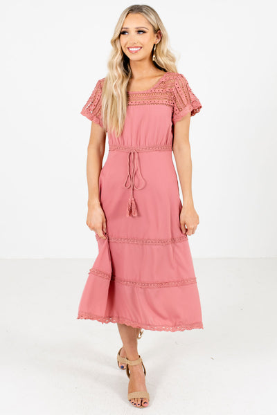 Women's Pink Date Night Boutique Dresses