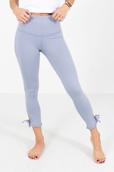 Light Blue Affordable Online Boutique Workout Clothing for Women