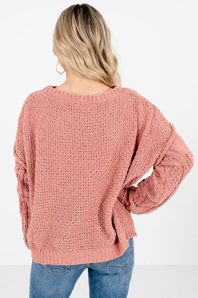 Women's Coral Super Soft Boutique Sweater