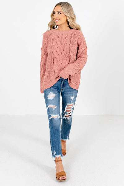 Coral Cute and Comfortable Boutique Sweaters for Women
