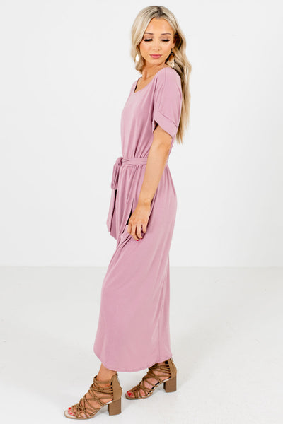 Pink Casual Everyday Boutique Maxi Dresses for Women