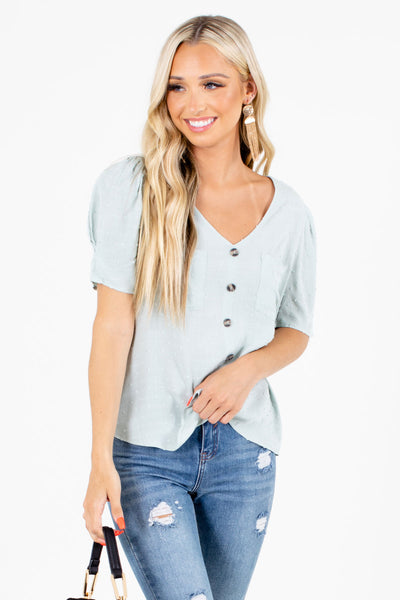 Anything is Possible Textured Blouse