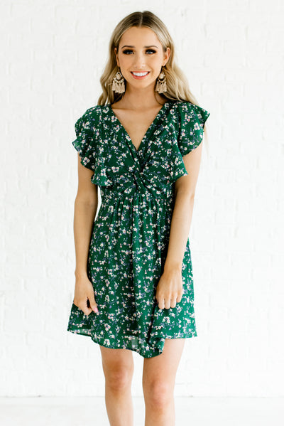 Green Women's Spring and Summertime Boutique Clothing