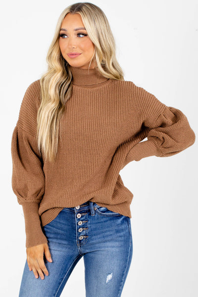 Artistic Touch Turtleneck Sweater