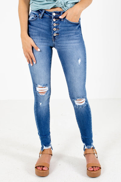Blue KanCan Brand Boutique Skinny Jeans for Women
