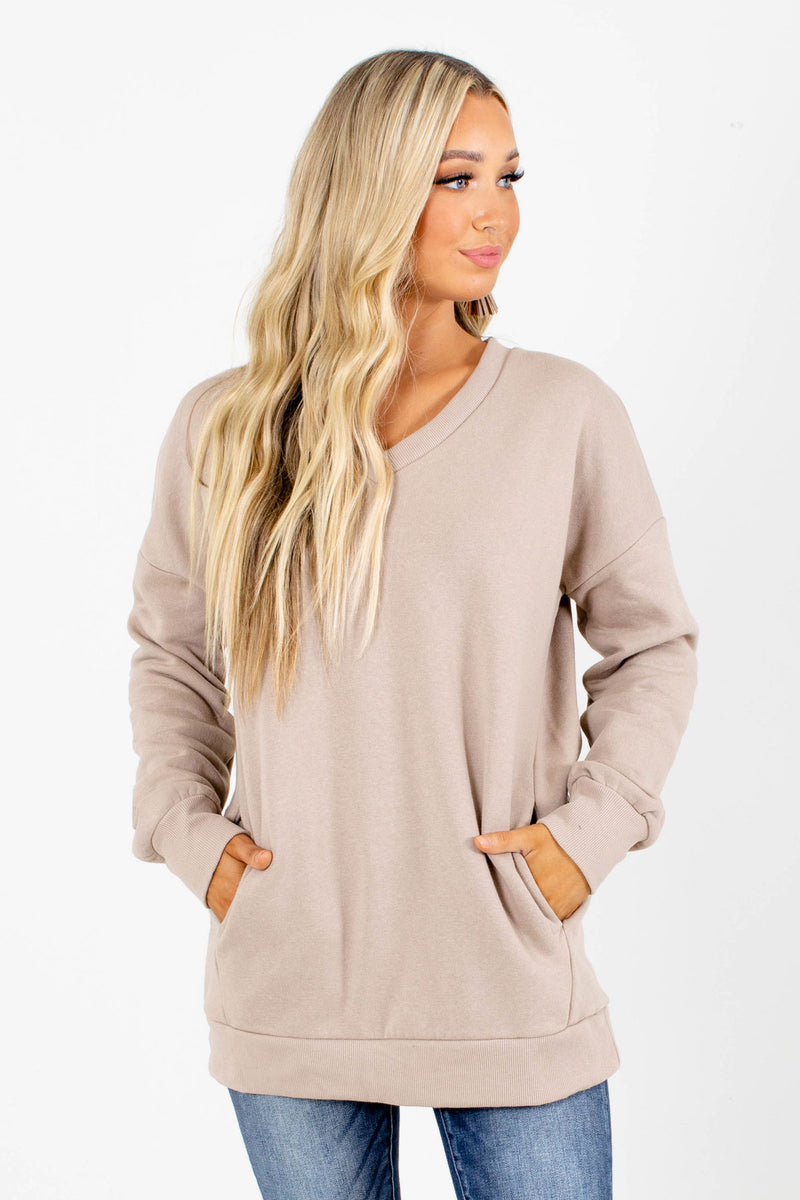 Back to Basics V-Neck Pullover Sweater