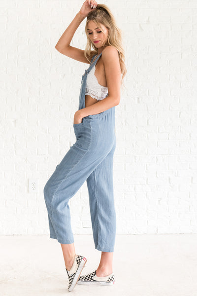 boutique overalls with pockets