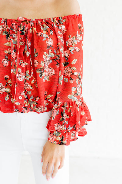 Vermilion Red Affordable Online Boutique Clothing for Women
