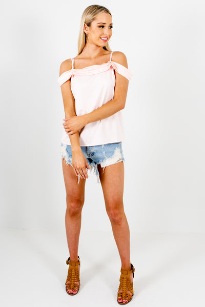 Women's Blush Pink Spring and Summertime Boutique Clothing
