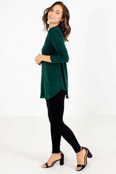 Women's Green Everyday Boutique Top