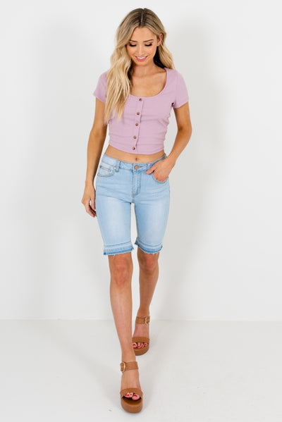 Women's Lavender Purple Spring and Summertime Boutique Clothing