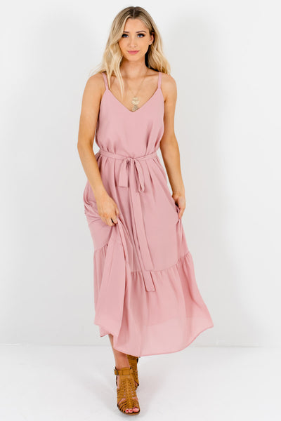 Women's Light Pink Spring and Summertime Boutique Clothing