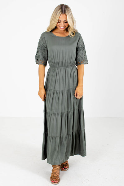 Green Maxi Dress Boutique Dresses For Women