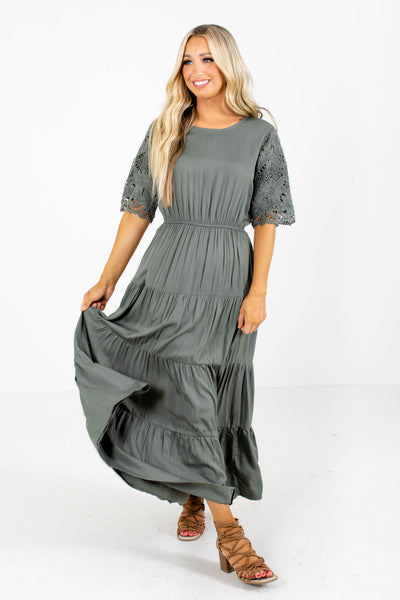 Maxi Pocket Dress Online Clothing Boutique
