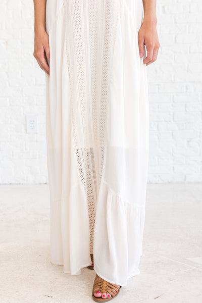 White Summer Maxi Dresses