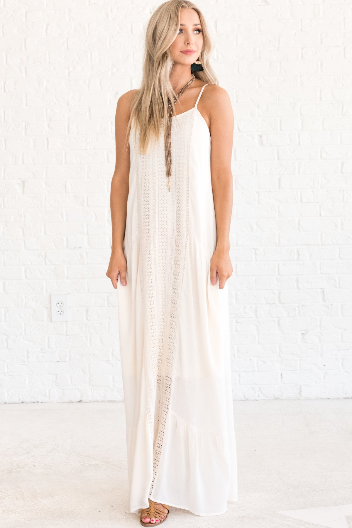 White Long Summer Dresses