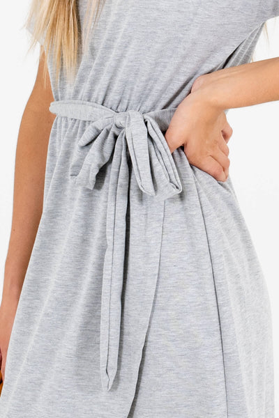 Heather Gray Affordable Online Boutique Clothing for Women