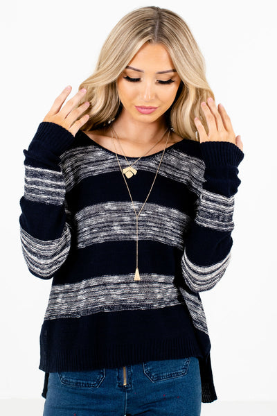 Navy Blue Affordable Online Boutique Clothing for Women
