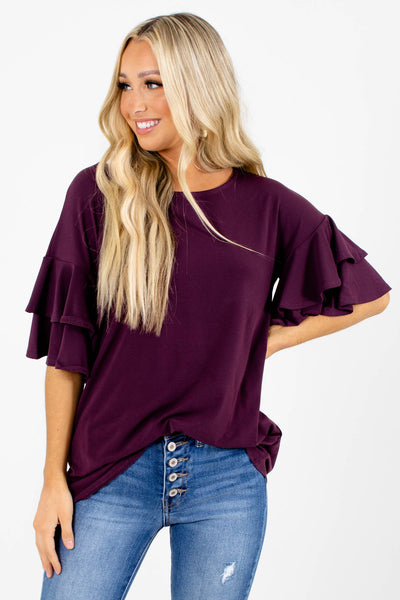 Build Your Dream Ruffle Top