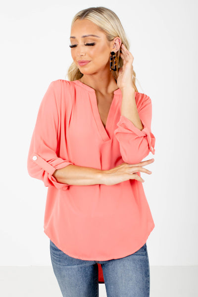 Women's Coral Spring and Summertime Boutique Clothing