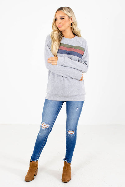 By My Side Grey Pullover
