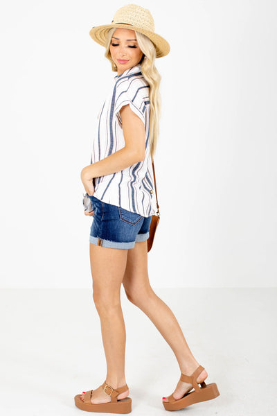 Women's Blue Spring and Summertime Boutique Clothing