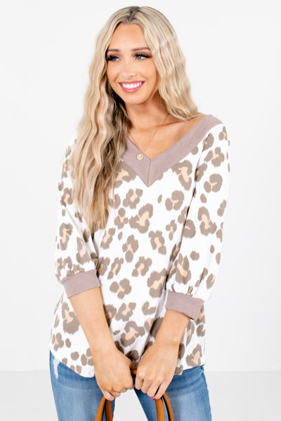 White Cute and Comfortable Boutique Tops for Women
