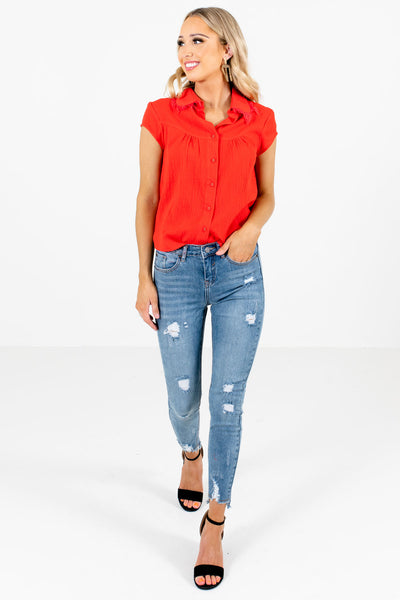 Blue Cute and Comfortable Boutique Jeans for Women