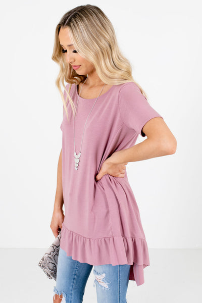 Women's Pink Spring and Summertime Boutique Tops