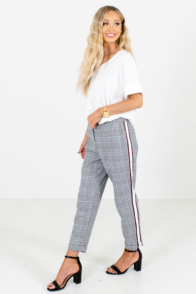 Women's Black Business Casual Boutique Pants