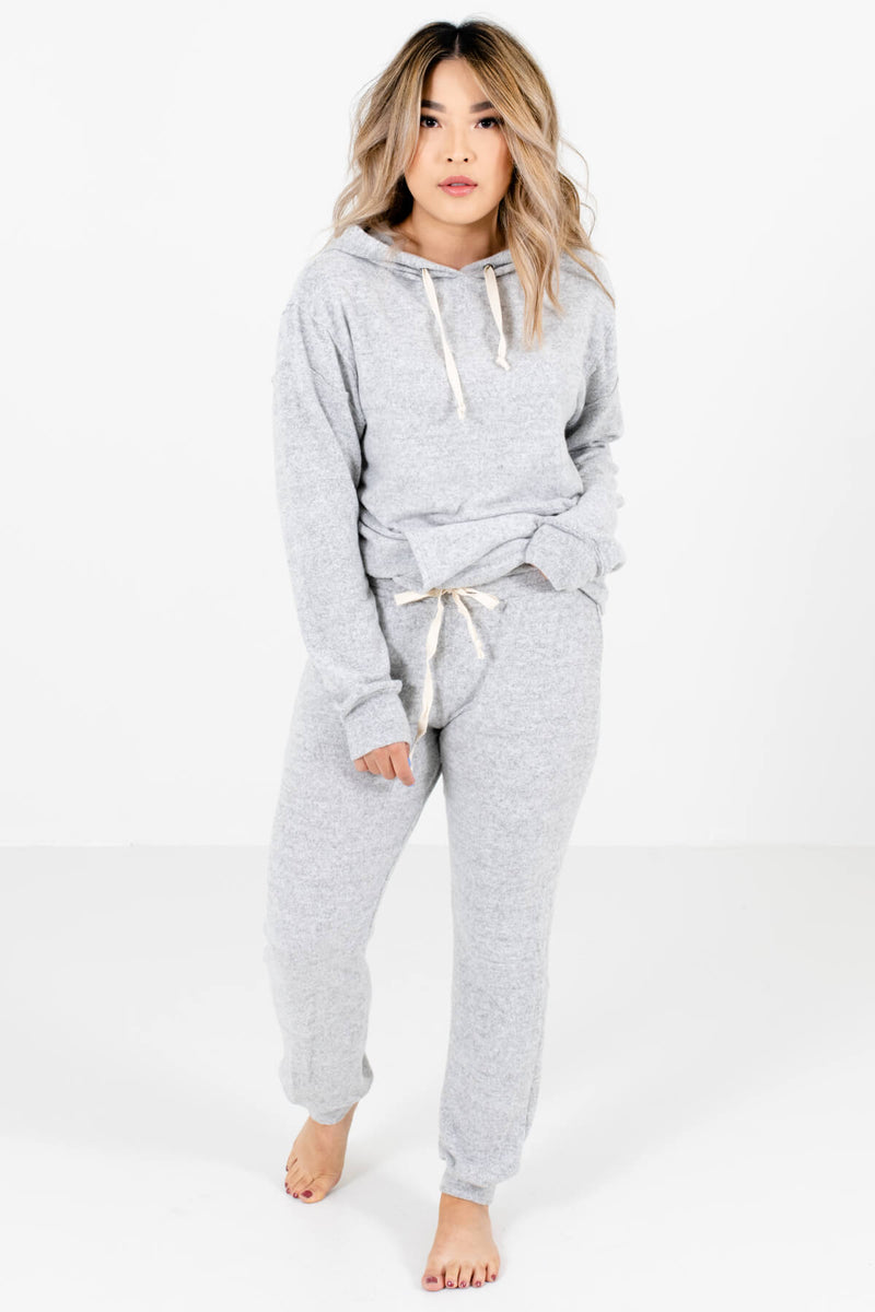 Caught Your Eye Heather Gray Joggers