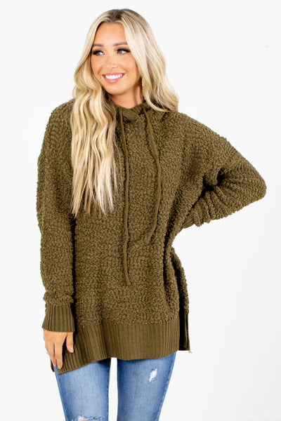 Chill Out Popcorn Knit Hoodie