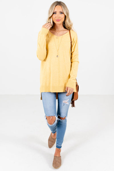 Choose Kindness Yellow Sweater