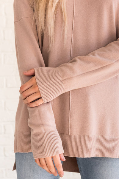 Dusty Pink Fall Clothing for Women Cozy Warm Winter
