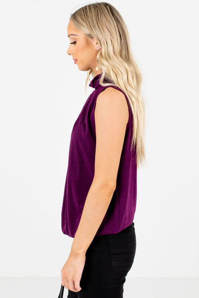 Purple Layering Boutique Tank Tops for Women