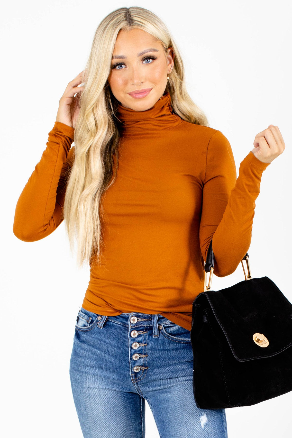 Clear Skies Turtleneck Top