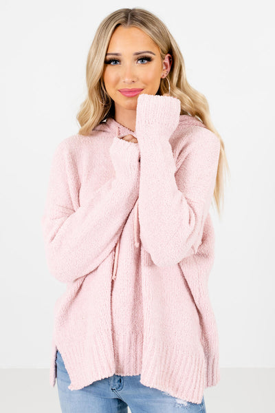 Women's Pink Warm and Cozy Boutique Clothing