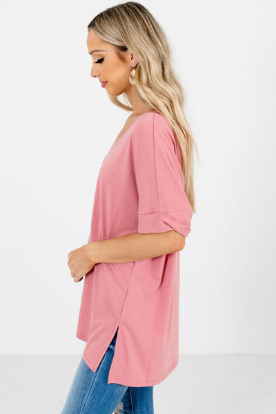 Dusty Pink Affordable Online Boutique Clothing for Women
