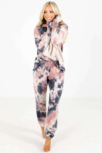Women's Tie-Dye Fall and Winter Boutique Clothing