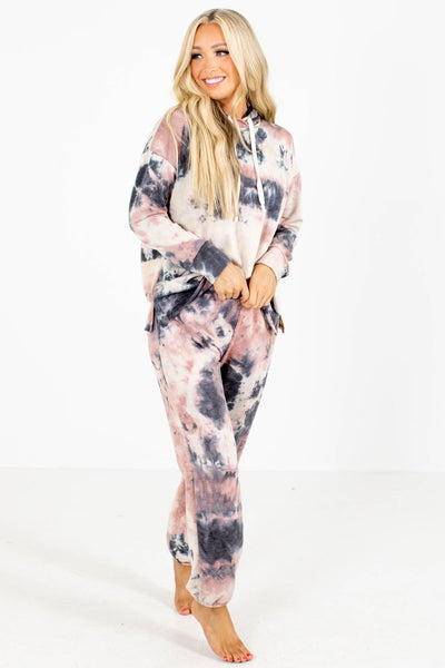 Women's Tie-Dye Cute and Comfortable Boutique Hoodies