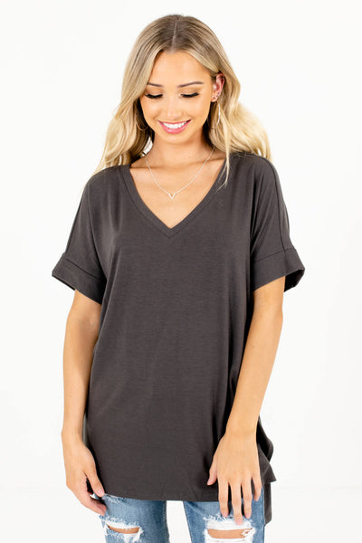Women's Ash Gray Boutique Basics