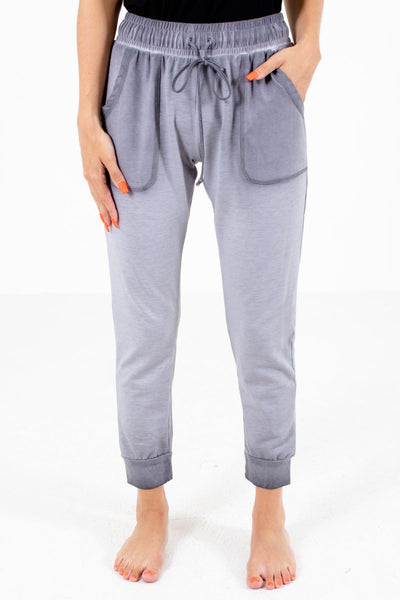 Gray High-Quality Boutique Lounge Pants for Women