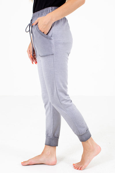 Gray Cute and Comfortable Boutique Lounge Pants for Women