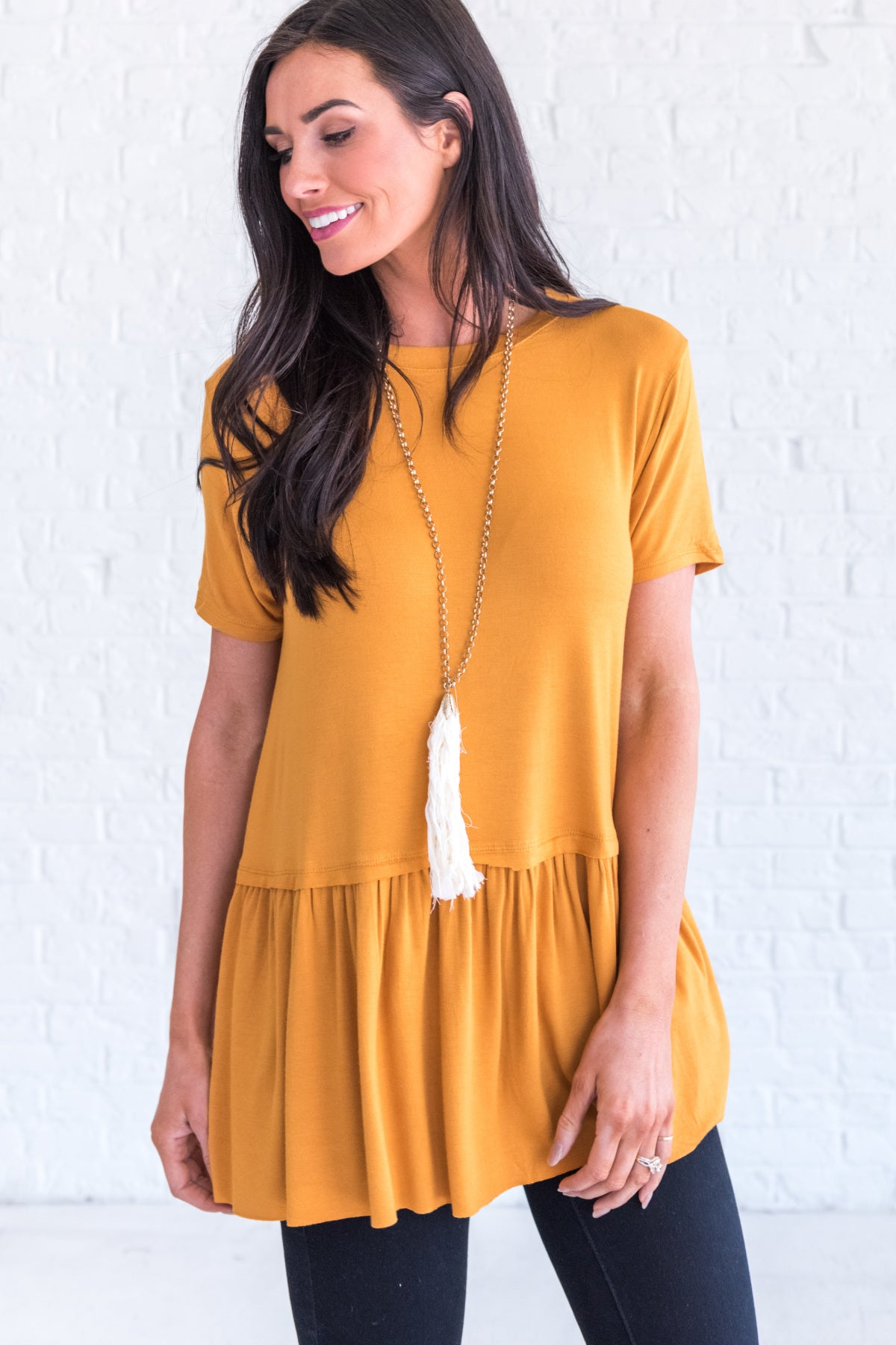 0e42ab88799 Mustard Yellow Affordable Online Boutique Clothing for Women