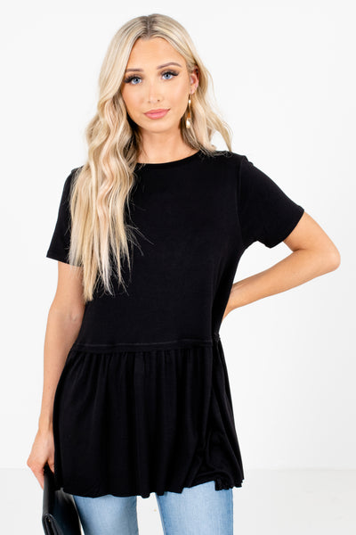 Black Affordable Online Boutique Clothing for Women
