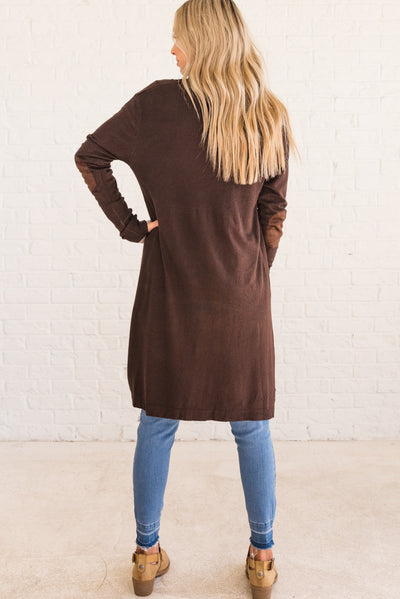 Cute & Clever Brown Cardigan | Brown Boutique Women's Cardigan